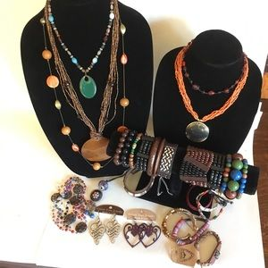 Boho Jewelry Lot for wear or resell some with tags